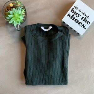 Everlane Ribbed Wool Long-Sleeve Sweater